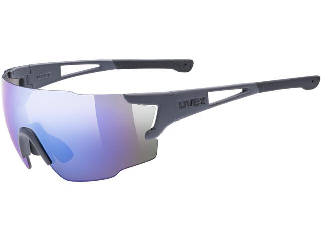 UVEX Sportstyle 804 Glasses dark grey matt/mirror blue
